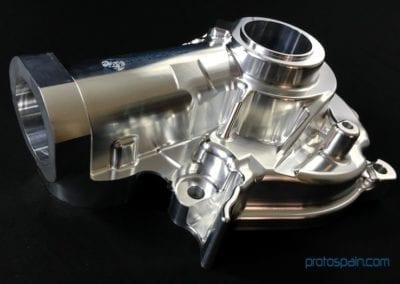 Carcasa Cardan Mecanizada en Aluminio